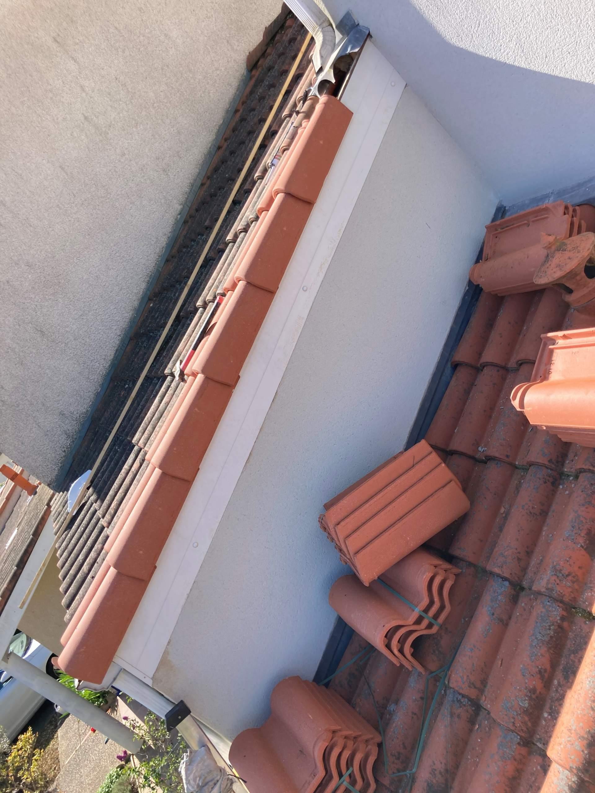 Remplacement de rives de toit à Beauzelle