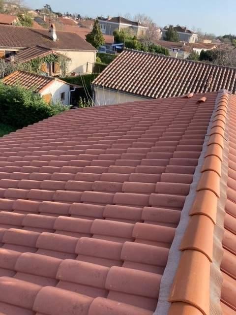 Rénovation complète d'une toiture de maison à Blagnac